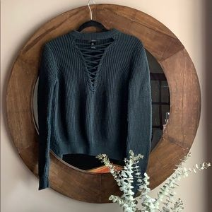 Forever 21 Crossfront Sweater